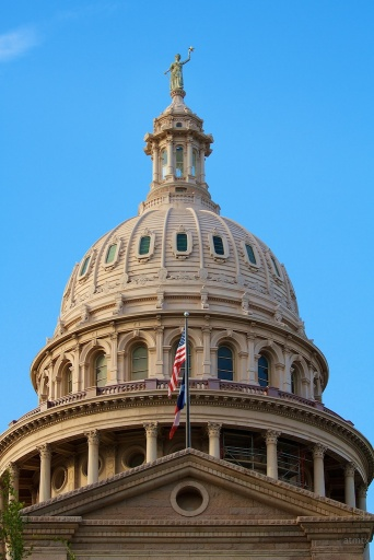 Austin Texas State Capitol Building Dome