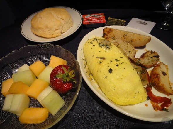 American Airlines - Breakfast