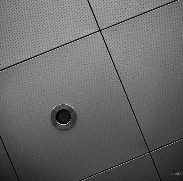 Circle and Squares Abstract