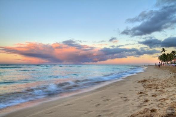 Waikiki each Westerly View